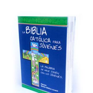 Biblia Católica para Jóvenes tapa rústica junior