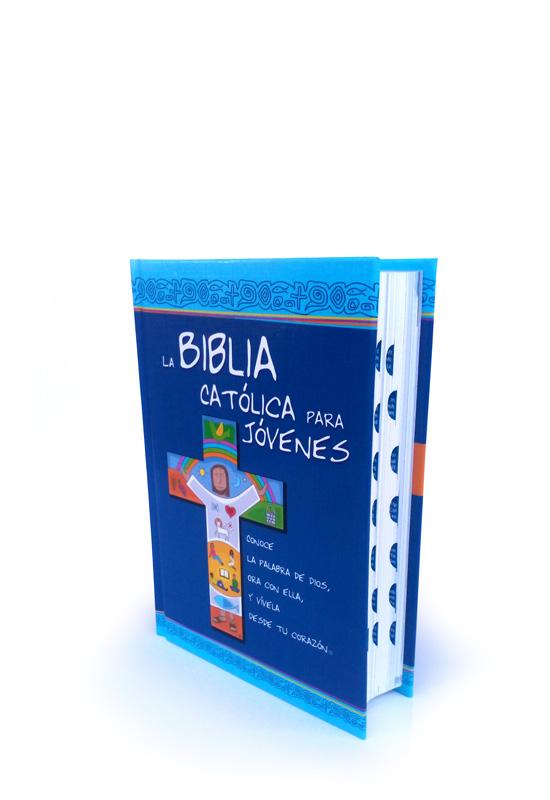 Biblia Católica para Jóvenes Junior con uñero