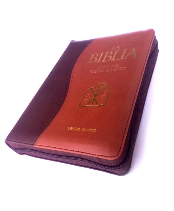 La Biblia del Pueblo de Dios bitono tapa