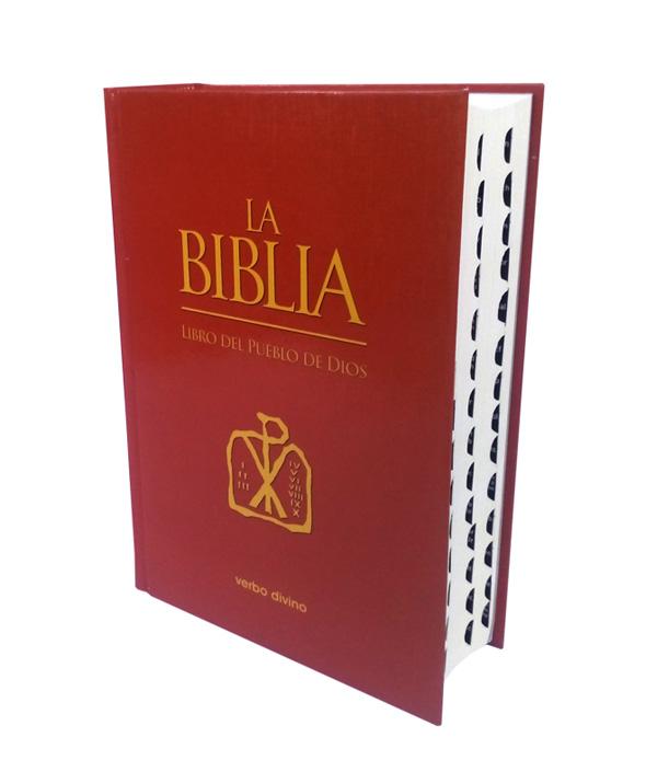 La Biblia del Pueblo de Dios rojo