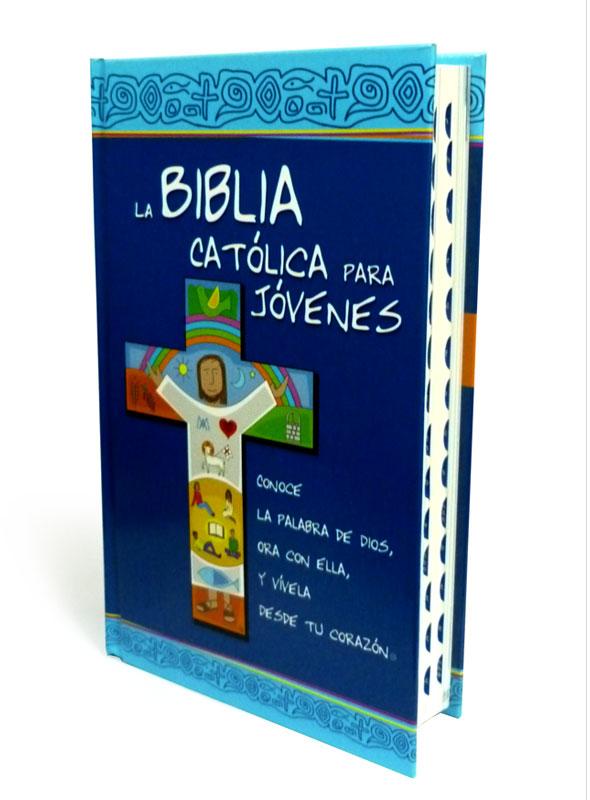 Biblia Católica para Jóvenes con uñero